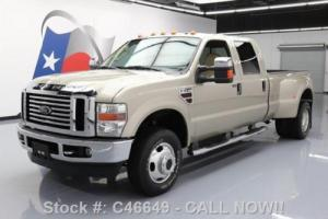 2008 Ford F-350 LARIAT CREW 4X4 DIESEL DUALLY TOW