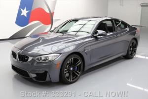 2015 BMW M4 COUPE 6-SPEED EXECUTIVE SUNROOF NAV HUD