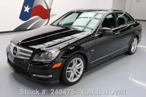 2012 Mercedes-Benz C-Class C250 SPORT P1 SUNROOF HTD SEATS