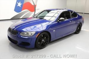 2013 BMW 3-Series 335IS COUPE M-SPORT TWIN-TURBO SUNROOF NAV