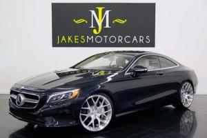 2015 Mercedes-Benz S-Class S550 Coupe 4MATIC DESIGNO($132K MSRP)