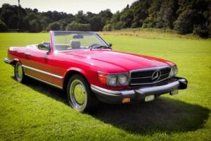 1981 Mercedes 380SL Convertible - RUST FREE Fresh California Import, NO RESERVE!