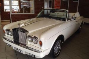 1978 ROLLS ROYCE CONVERTIBLE WHITE