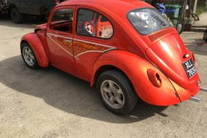 vw beetle 1968 new ragtop fully welded with fresh paint