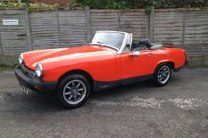LOVELY 1978 MG MIDGET RED - RESTORED - VERY LOW MILES - FULL MOT