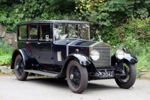 1928 Rolls-Royce 20hp Windovers 6 Light Saloon GKM7 Photo