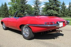 Jaguar: E-Type Series 1 OTS XK-E Roadster Photo