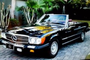 1985 Mercedes-Benz SL-Class 380SL Convertible 2-Tops Low Miles! Classic Luxury Photo