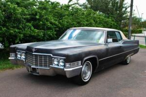 1969 Cadillac DeVille No Reserve Drives Great Needs Cosmetic Restoration