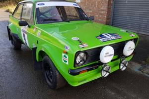 1976 FORD ESCORT RS 2000 FLAT FRONT