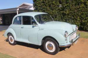 Morris Minor 1000 1958 Model in NSW