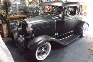 HOT ROD 1930 Ford Model A Coupe ALL Steel 350 Chev OLD Skool Fully Detailed
