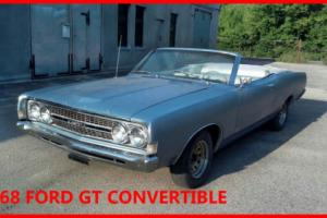 1968 FORD TORINO GT CONVERTIBLE - CLASSIC - AMERICAN - PROJECT