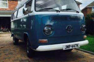 1972 VW BAY WINDOW DORMOBILE CAMPER (RHD)