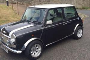 Rover Mini Cooper 1997 Black With Alloys and half Leather seats