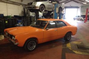 1973 FORD CORTINA MK3 2 DOOR CONVERSION. 2.8I V6. TAX EXEMPT. MK 3