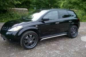 "Nissan Murano,project Kahn design inspired,06,22"" lensos,black,leather,£6995ono"