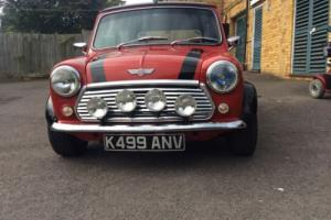 1992 ROVER MINI COOPER 1.3I RED/BLACK