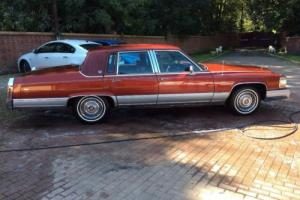 1991 Cadillac Brougham Fleetwood petrol LPG low miles classic American LHD