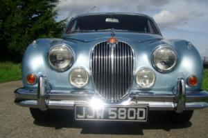 "JAGUAR MK2 .1966. 3.4 MANUAL with OVERDRIVE "" A FAB JAG"" !"