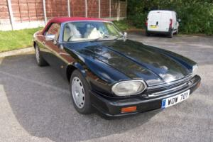 JAGUAR XJS FACE LIFT 4LTR CONVERTIBLE, 1992, LOVELY LOOKING CAR.