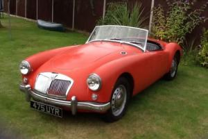 1959 MGA Roadster original, corrosion free and fitted with 1622cc engine