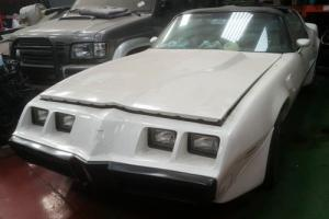 PONTIAC FIREBIRD TRANS AM 90% FINISHED RESTORATION PROJECT WITH ALL PARTS
