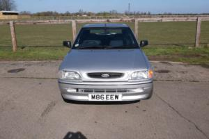 1995 FORD ESCORT MISTRAL SILVER,one owner,52k,ffsh,no reserve,RARE FIND,FANTASTI