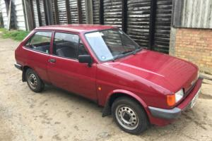 FIESTA MK2 1987 1 owner full service history 34k mls dealer plates & stickers