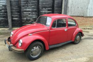 VW BEETLE 1300 1 family owner from new very original and complete Photo