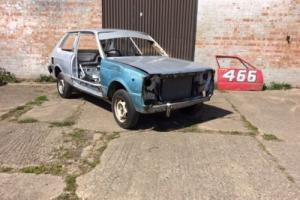 Toyota Starlet kp rear wheel drive rolling shell, race/rally/dift/oval car etc. Photo