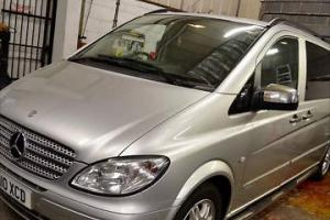 mercedes vito/viano CDI extra long wheel base auto 9 seater silver with