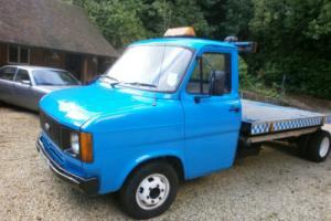 FORD TRANSIT MK2 CLASSIC CAR BREAKDOWN RECOVERY TRUCK 2.5 DI 5 SPEED Photo