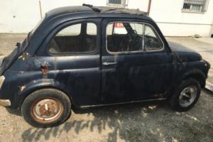 Fiat 500 MODEL L YEAR 1969 FOR RESTORATION **NO RESERVE PRICE** no suicide doors