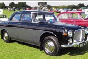 ROVER 3 LITRE MK1 MANUAL WITH OVERDRIVE SALOON BLACK/GREY 1960 Photo