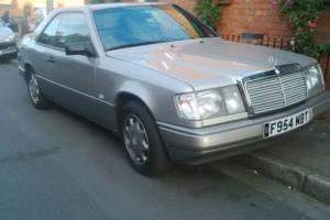 Mercedes 300ce Coupe Auto clean W124 long mot , rare interior