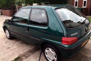 Peugeot 106 Zest 2, one owner and just 15,000 mls from new