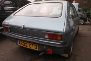 1983 VAUXHALL CHEVETTE L H 1 LADY OWNER 13K NEW MOT RARE COLOUR, NEVER WELDED