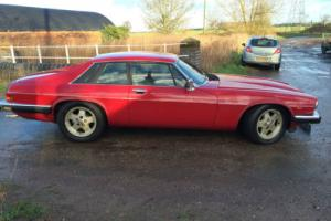 JAGUAR XJS 3.6,COUPE 1987,AUTO. RED, STARTS AND DRIVES for restoration £1375