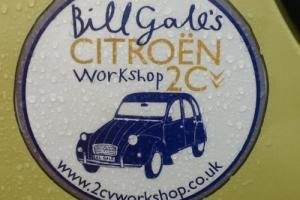 Classic Citroen 2cv Bill Gale