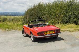 Triumph Spitfire 1500 - Tax Exempt Photo