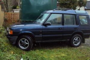 Land Rover Discovery V8i GS Loads history NEW MOT Low miles