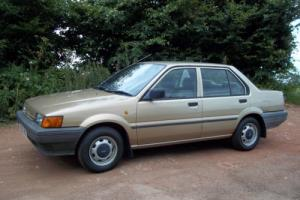 1987 NISSAN SUNNY LX SALOON 1.3L M.O.T JAN 2017 Photo
