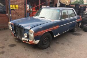 Mercedes-Benz 1972 Saloon Project