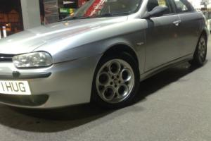 ALFA ROMEO 156 1.8 T ONLY 72000 MILES! CLOVERLEAF ALLOYS LEATHER! KIT NICE REG !