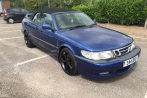 2002 SAAB 9-3 AERO AUTO BLUE Photo