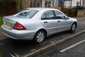 2003 MERCEDES C180 KOMP. CLASSIC SE A SILVER Photo