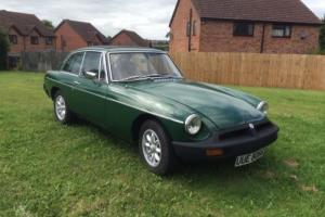 1977 MG B GREEN Photo