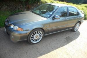 2003(53)MG ZS 5 DOOR HATCHBACK,UNUSED FOR THE LAST 3 YEARS Photo