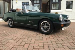 1975 MG MIDGET 1500 CONVERTIBLE * FRESH MOT * ORIGINAL SERVICE BOOK *